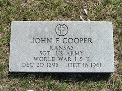 John F Cooper