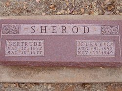 Gertrude <I>Jacobson</I> Sherod