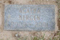 Agatha Bergen