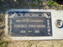 Florence <I>Tong</I> Young
