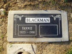 Fannie Blackman