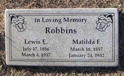 Matilda F. <I>Cochran</I> Robbins