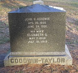 "Elizabeth Greenough ""Eliza"" <I>Brookings</I> Goodwin"