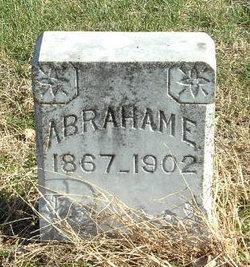Abraham E Edwards