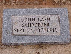Judith Carol Schroeder