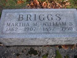 Martha M <I>Mitchell</I> Briggs