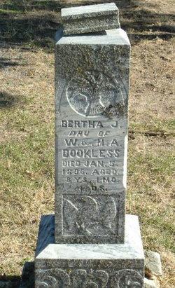 Bertha J Bookless