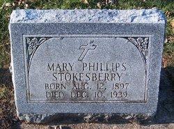 Mary <I>Phillips</I> Stokesberry