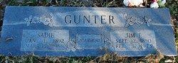 "Sarah Jane ""Sadie"" <I>Smith</I> Gunter"