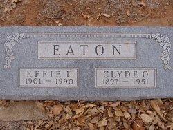 Effie L. <I>Darland</I> Eaton