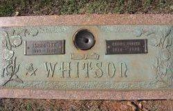 "Isaac ""Ike"" Whitson"
