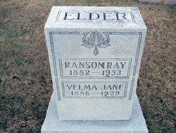 Velma Jane <I>Sears</I> Elder