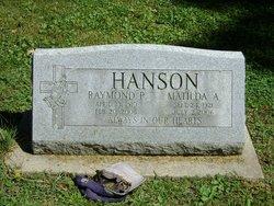 Matilda Ann <I>Leider</I> Hanson