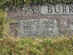 Nancy Jane <I>Pharris</I> Burruss