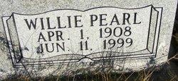 Willie Pearl <I>Adams</I> Black