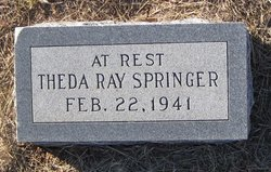 Theda Ray Springer