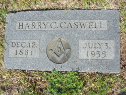 Harry Charles Caswell