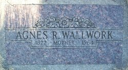 Agnes Rebecca <I>Robbins</I> Wallwork