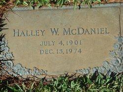 Halley William McDaniel