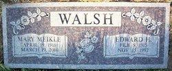 Edward H Walsh
