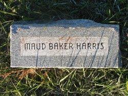 Maud <I>Baker</I> Harris