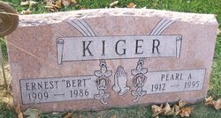 """Ernest """"Bert"""" Kiger"""