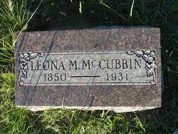 Leona M McCubbin