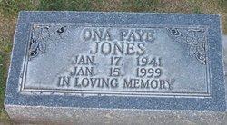 Ona Faye Jones