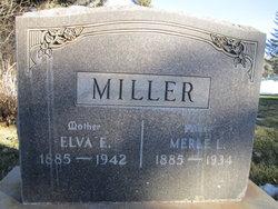 Elva E. <I>Morgan</I> Miller