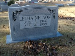 Letha <I>Green</I> Nelson
