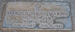 Harold Leroy Martin