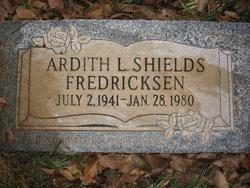 Ardith Louise <I>Shields</I> Fredricksen