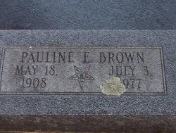 Pauline Elizabeth <I>Knox</I> Brown
