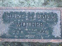 Valarie M Brown