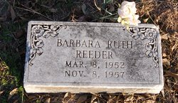 Barbara Ruth Reeder