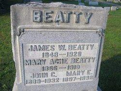 Mary Elizabeth <I>Ache</I> Beatty