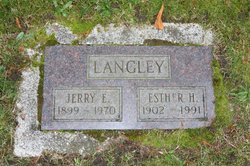 Jerry E Langley