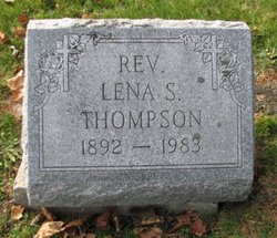 Rev Lena S Thompson