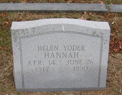 Helen Roberta <I>Yoder</I> Hannah
