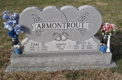 Betty Lee <I>Worrel</I> Armontrout