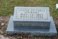 Louise Victoria <I>Carter</I> Stewart