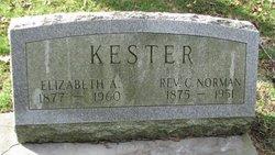 Rev Charles Norman Kester