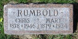 Mary V. <I>Martin</I> Rumbold