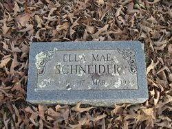 Ella Mae Schneider