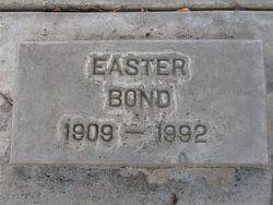 Easter Thelma <I>Sittingdown</I> Bond