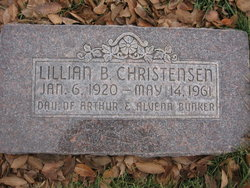 Lillian <I>Bunker</I> Christensen