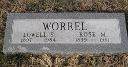 "Lowell Sanford ""Babe"" Worrel"