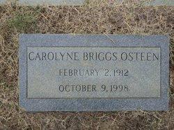 Carolyne <I>Briggs</I> Osteen