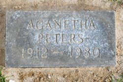 Aganetha Peters