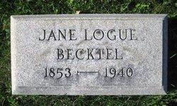 Jane Logue Becktel